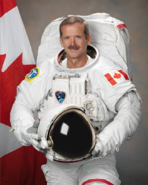 "Canadian Astronaut Chris Hadfield 10""x8"" Official Portrait"